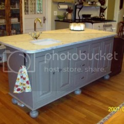 Kitchen Island With Prep Sink Tile For Wall Another Shot Of W Photo By