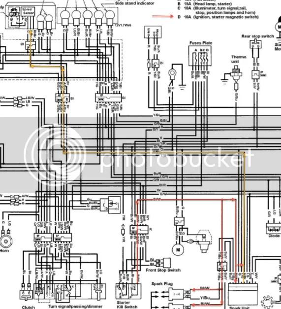 cbr250r wiring diagram · wiring diagram 2012 honda cbr 250