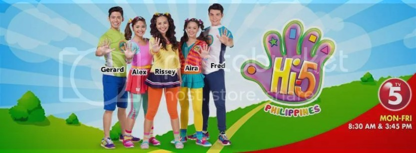 Say Hi To TV5, All Filipino Cast, Hi5 Philippines! - Mommy Pehpot