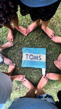 Toms One-day without Shoes