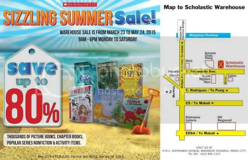 Scholastic Sizzling Summer Sale 2015