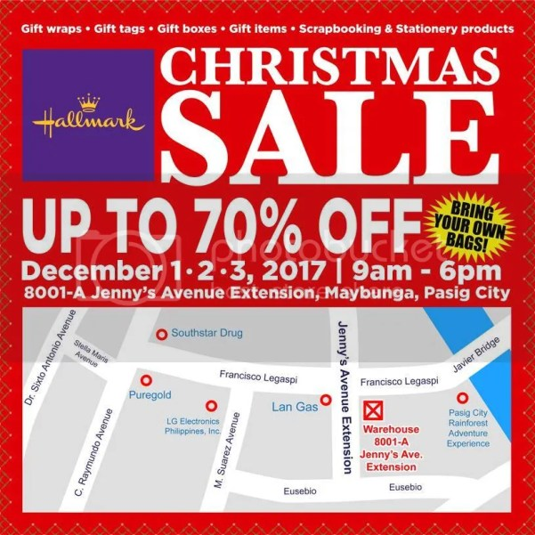Hallmark Christmas Warehouse Sale Pasig