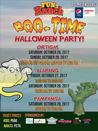 Halloween Trick or Treat Events 2017 Manila