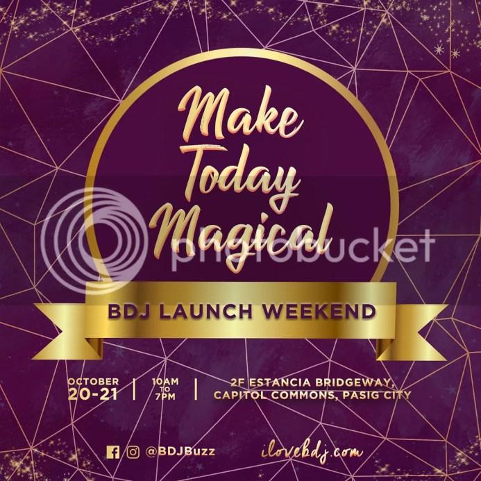 BDJ 2019 Planner Launch Schedule & Ticket Prices