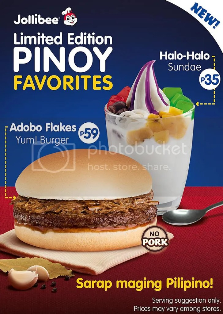 Jollibee Adobo Flakes Yum Burger Review