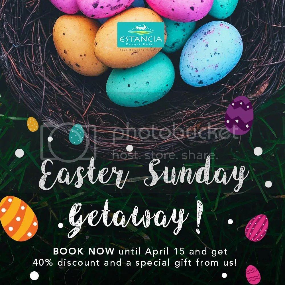 Tagaytay easter events 2017 compiled by mommy blogger pehpot another hotel having a free easter event for their guests estancia resort hotel negle Image collections