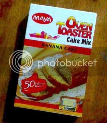 Maya Oven Toaster Cake Mix