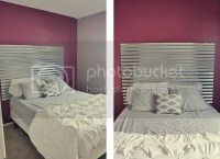 Guest Bedroom with DIY Corrugated Metal Headboard - Young ...