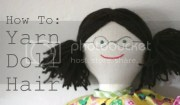 yarn doll hair - poppet