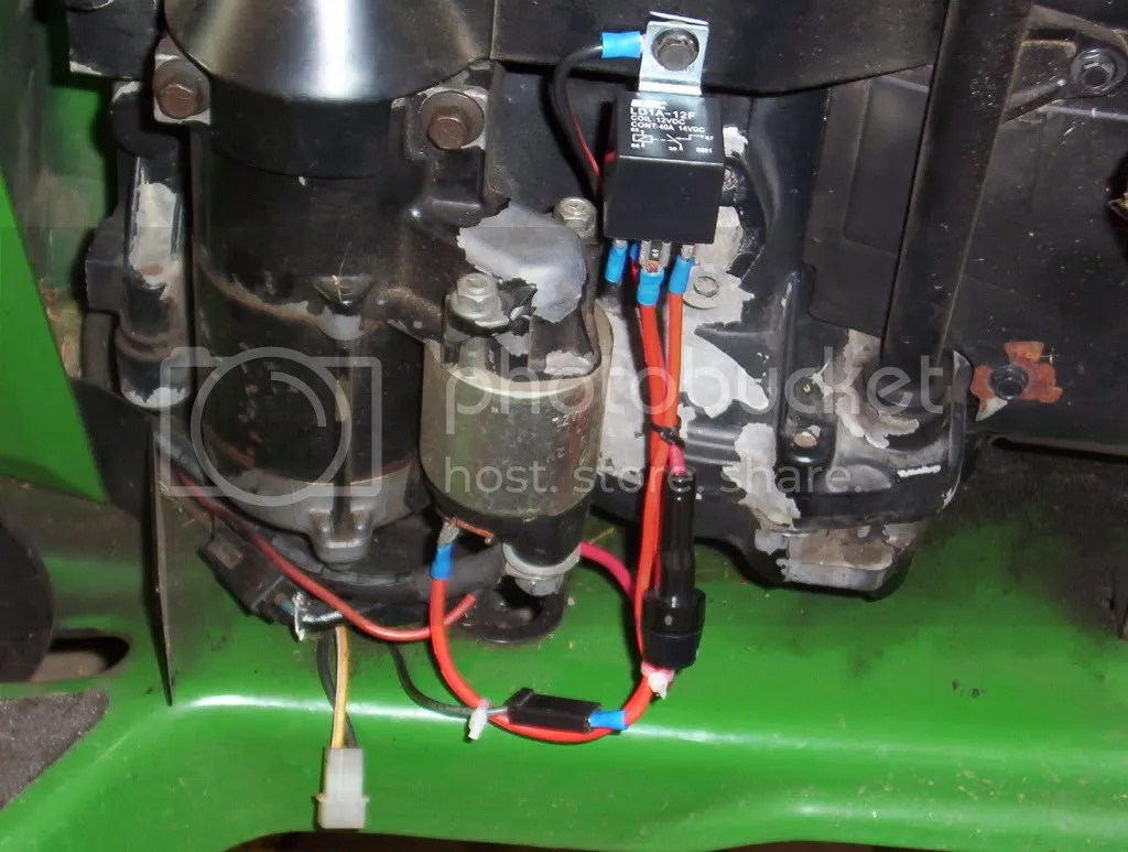 hight resolution of starter assist relay lawn mower forums lawnmower reviews repair pricing and discussion forum
