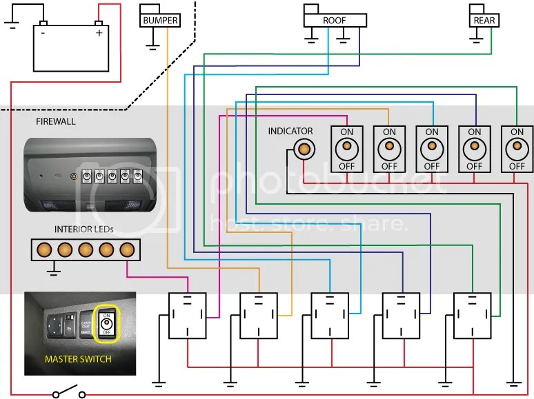 Updated 5 Relay Wiring Diagram Thoughts? Second Generation