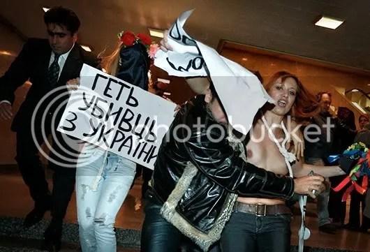 Femen anti-Iranian