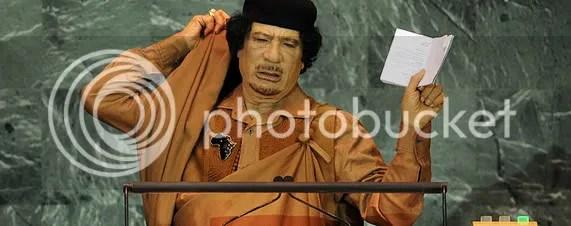 Gadhafi robes