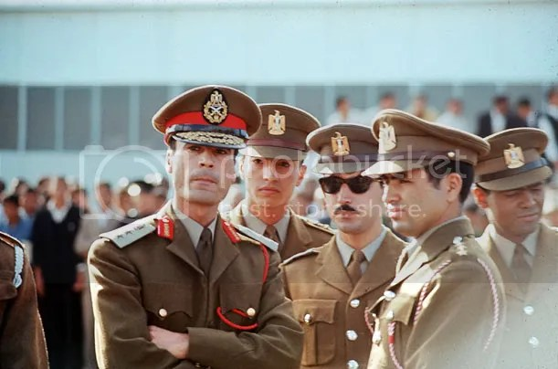 gadhafi and friends