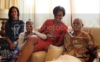 Michelle Obama Jacob Zuma