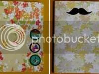 Como hacer cuadernos forrados con tela