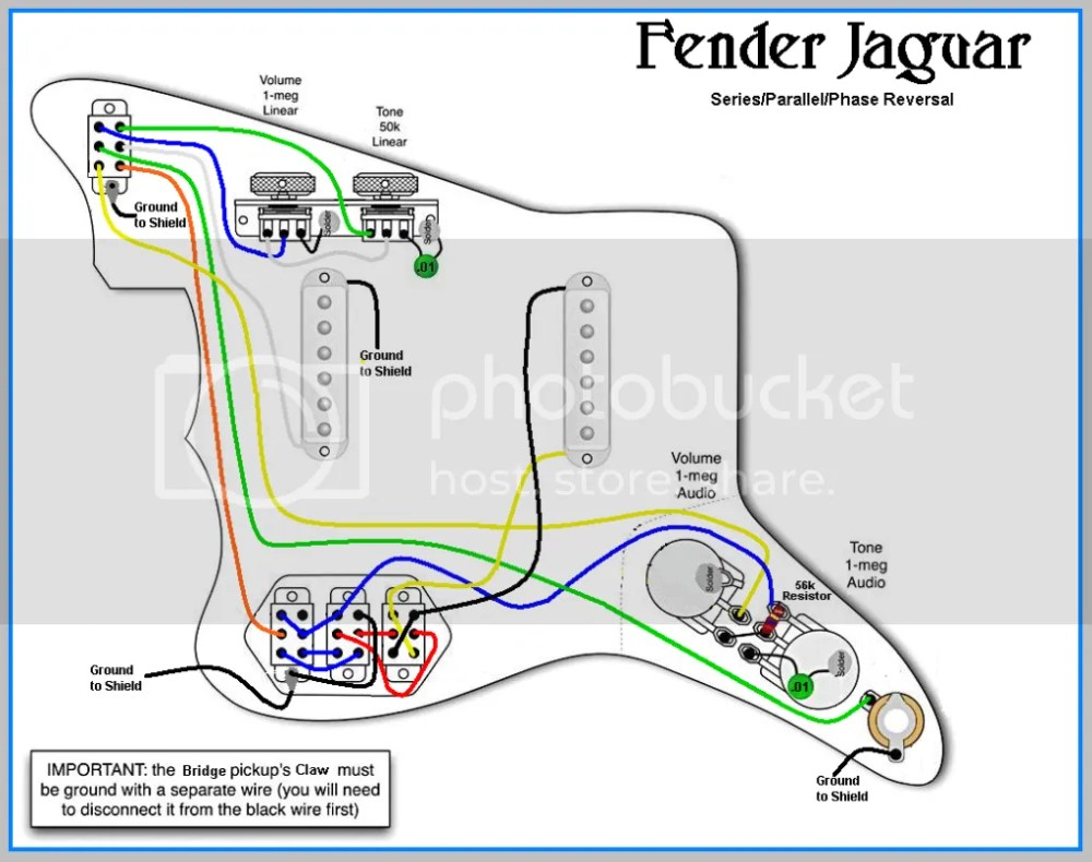 medium resolution of fender jaguar pickup wiring wiring diagram fender jaguar pickup wiring