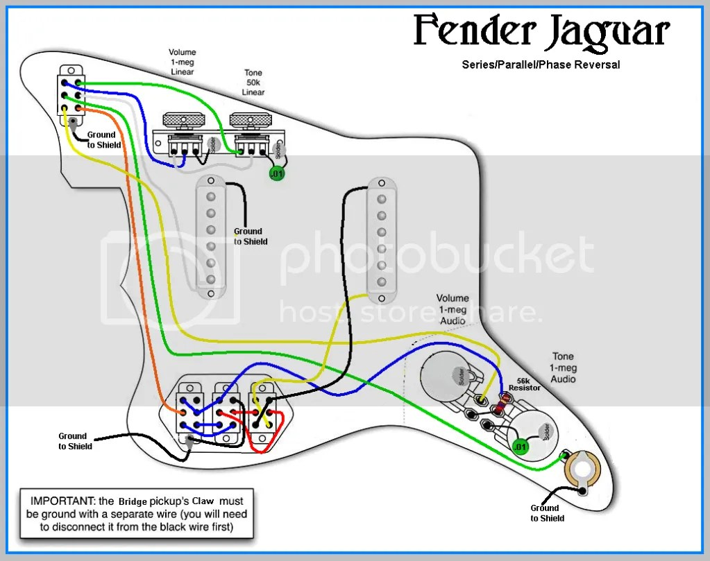 hight resolution of fender jaguar pickup wiring wiring diagram fender jaguar pickup wiring