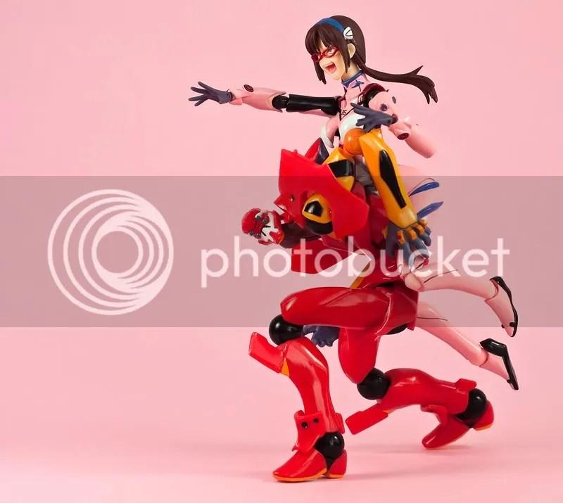 Mari Illustrious Makinami Figma with nigoki