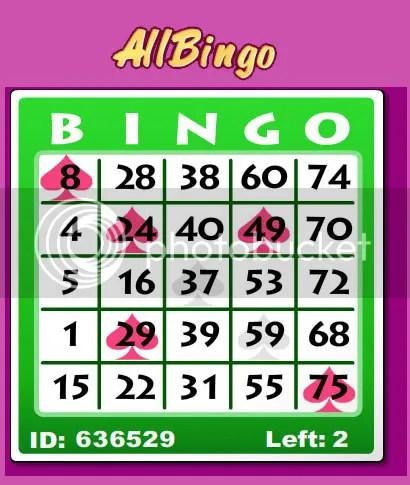 bens bingo