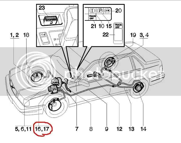 GUIDE:Lokalisering och borttagning ABS-styrenhet.85X70