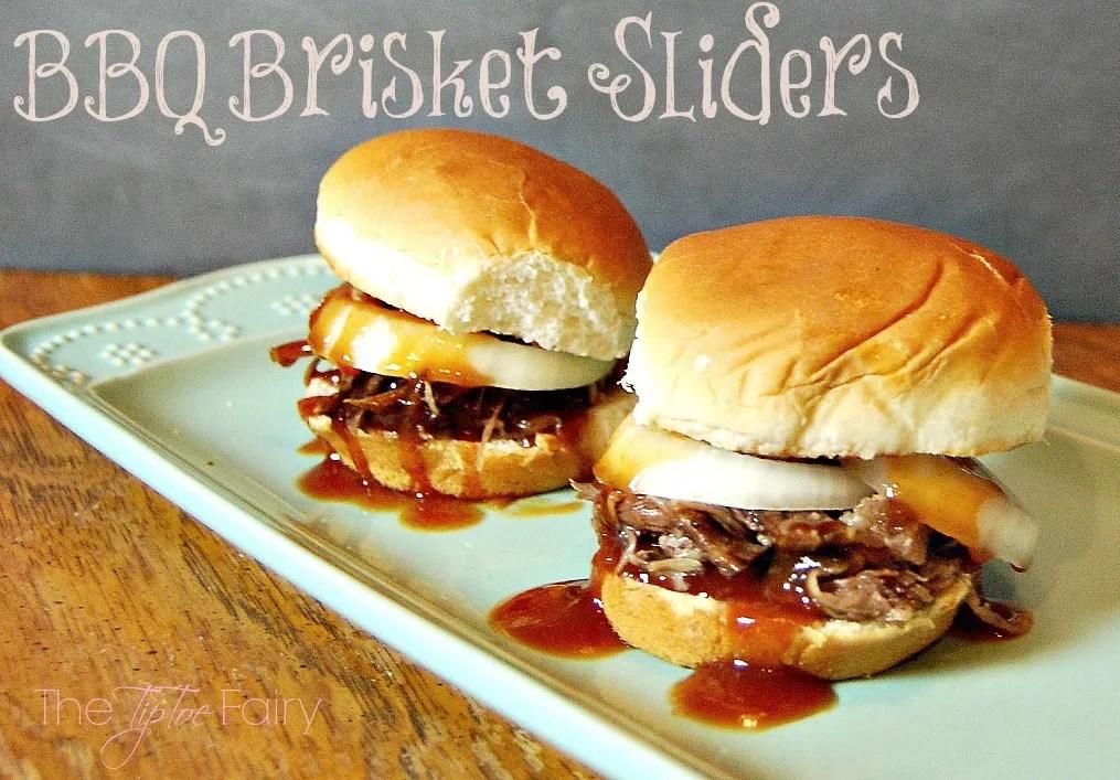 BBQ Brisket Sliders | The TipToe Fairy