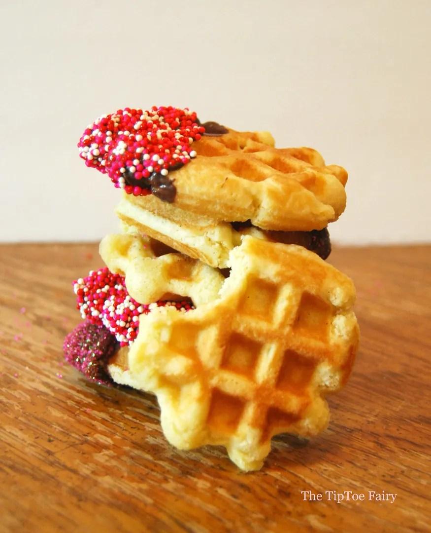 Belgian Waffle Cookies