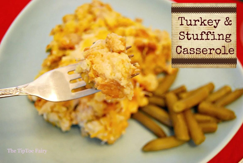 #shop #KraftEssentials Turkey & Stuffing Casserole