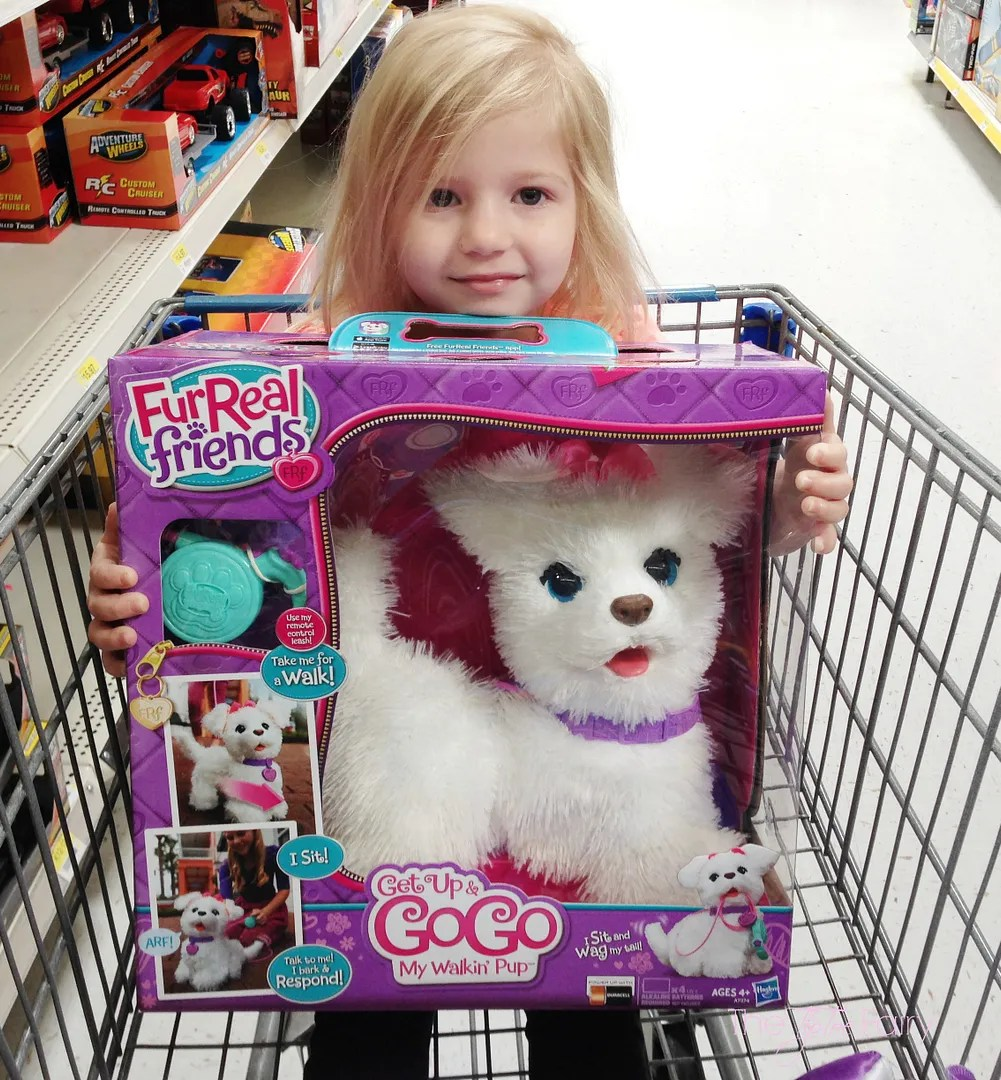 Toy Review: FurReal Friends Get Up & GoGo My Walkin Pup Pet | The TipToe Fairy #chosenbykids #toyreview #hottoys #toys