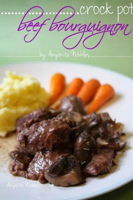 Crock Post Beef Bourguignon | Anyonita Nibbles