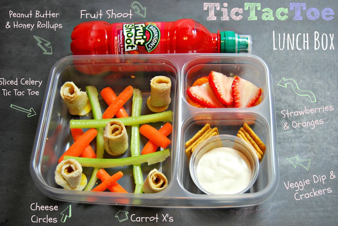 Tic Tac Toe Lunch Box | The TipToe Fairy #FuelYourImagination #FruitShoot