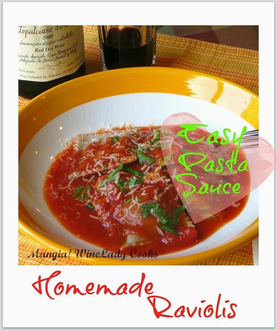 Homemade Ravioli | Wine Lady Cooks
