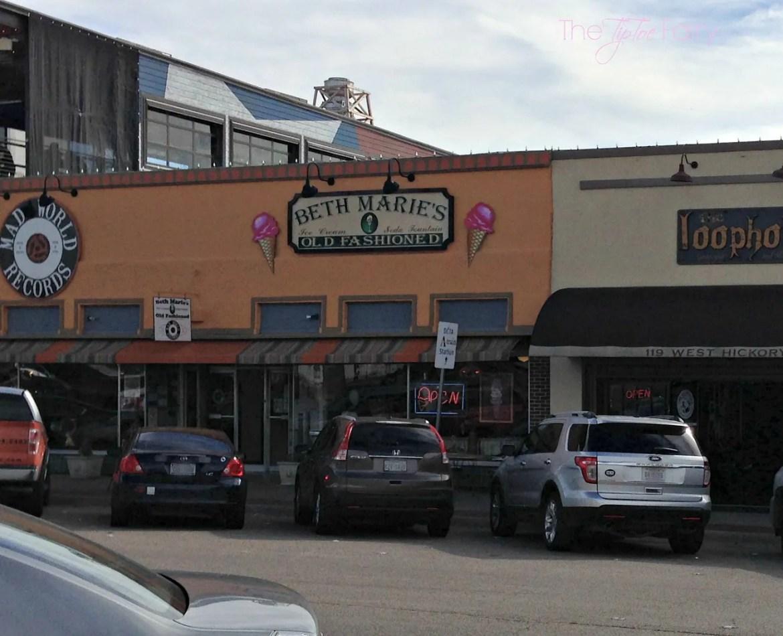 Beth Marie's Old Fashioned Ice Cream Denton, Texas #Dinner4Valentines