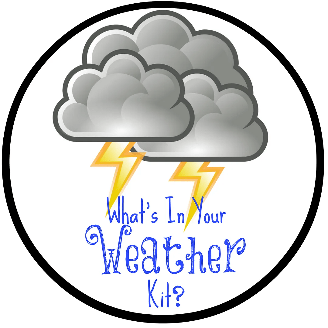 What's in my Weather Kit with Duracell Coppertop Batteries | The TipToe Fairy #shop #PrepWithPower