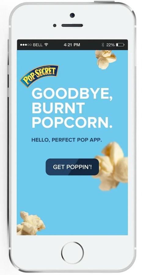 Use the Perfect Pop App to make some Polka Dot Popcorn   The TipToe Fairy #PerfectPop #GoodbyeBurnedPopcorn #sp #popcornrecipes