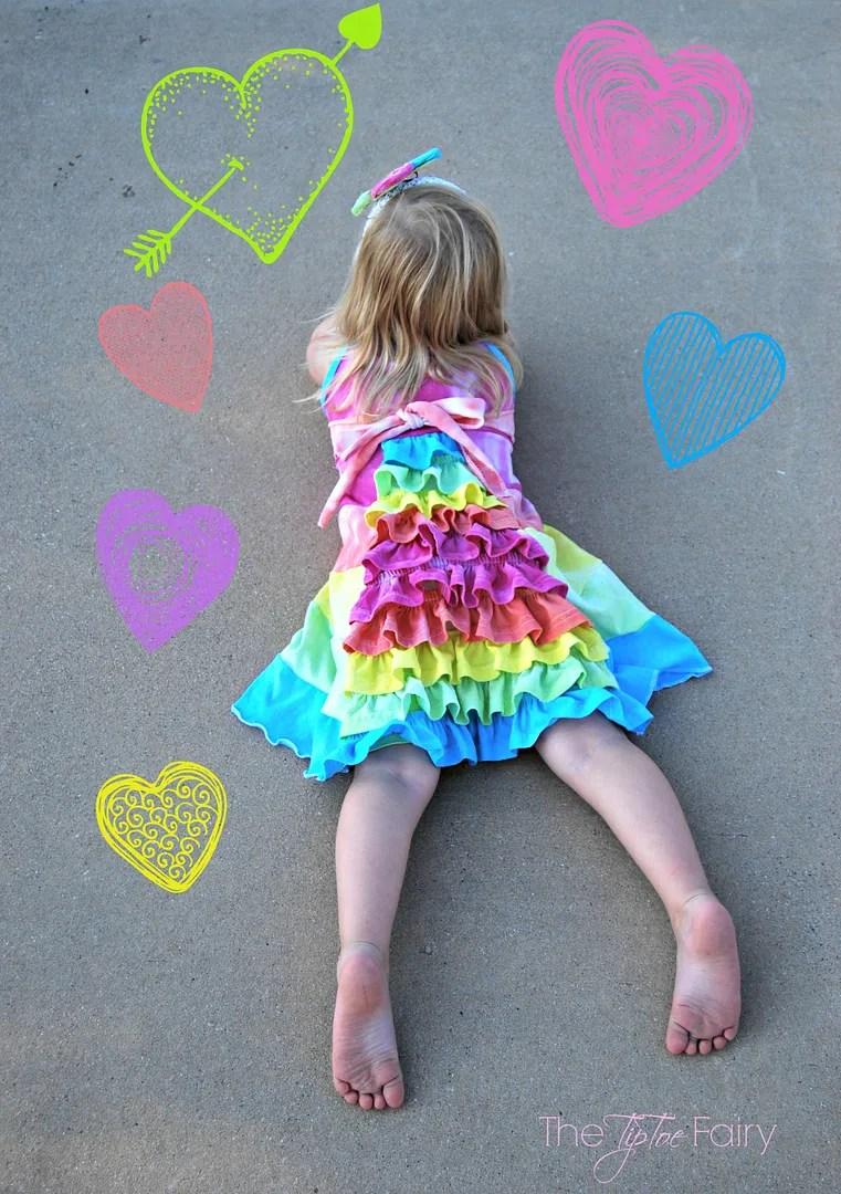 Tie Dye Girl's Bustle Sun Dress Tutorial   The TipToe Fairy #tiedyeyoursummer #tdys