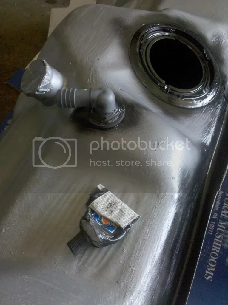 did a fuel tank vent mod to front tank mucho better  Ford Truck Enthusiasts Forums