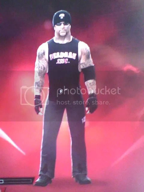PlayStation 3 Undertaker Caw  years 20012002 and 2003  Created Superstars