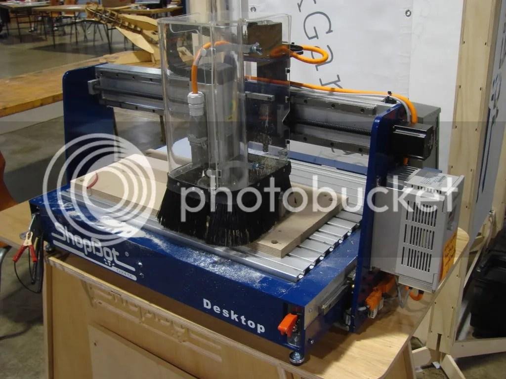 ShopBot Desktop CNC Router Digital Fabrication Tool