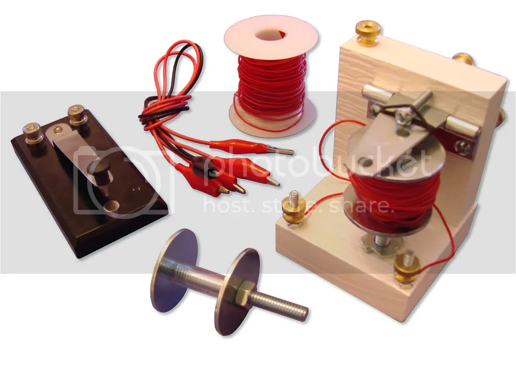 Reinventing Morse: Build your own Telegraph Science Kit