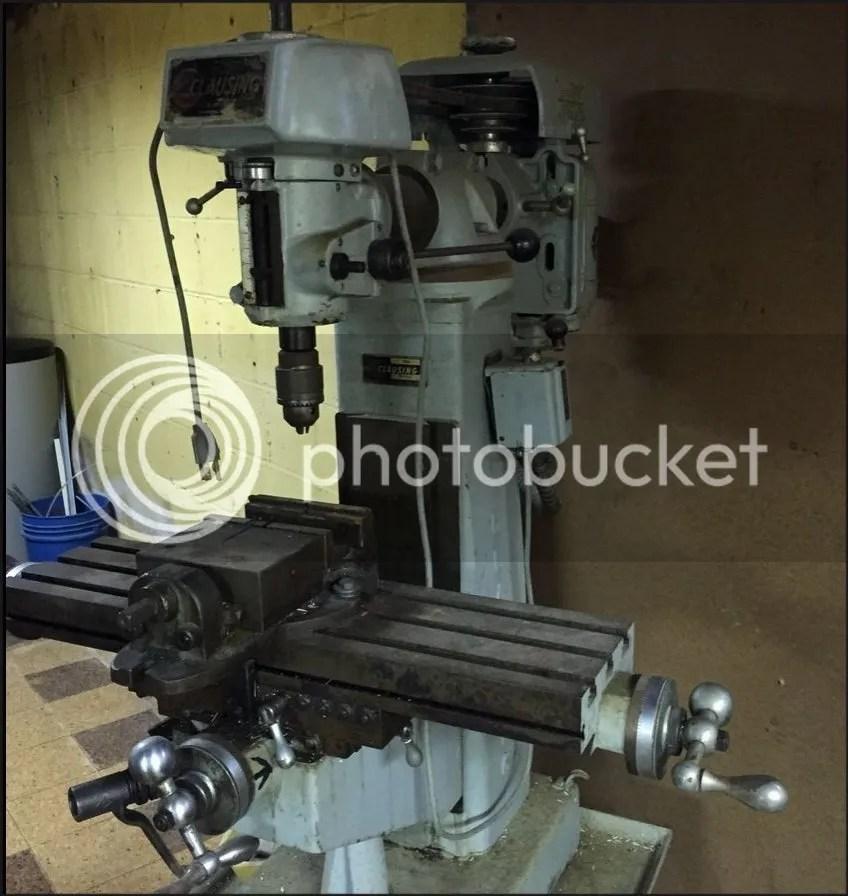 Clausing Milling Machine 8520