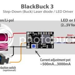 10 Watt Led Driver Circuit Diagram 2007 Kawasaki Brute Force 750 Wiring Blackbuck 3 By X-wossee 3a Adjustable Step-down (buck) / Laser Diode | Ebay
