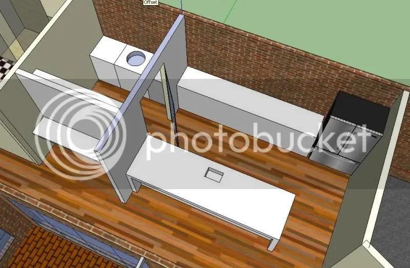 Moving plumbing on slab floor