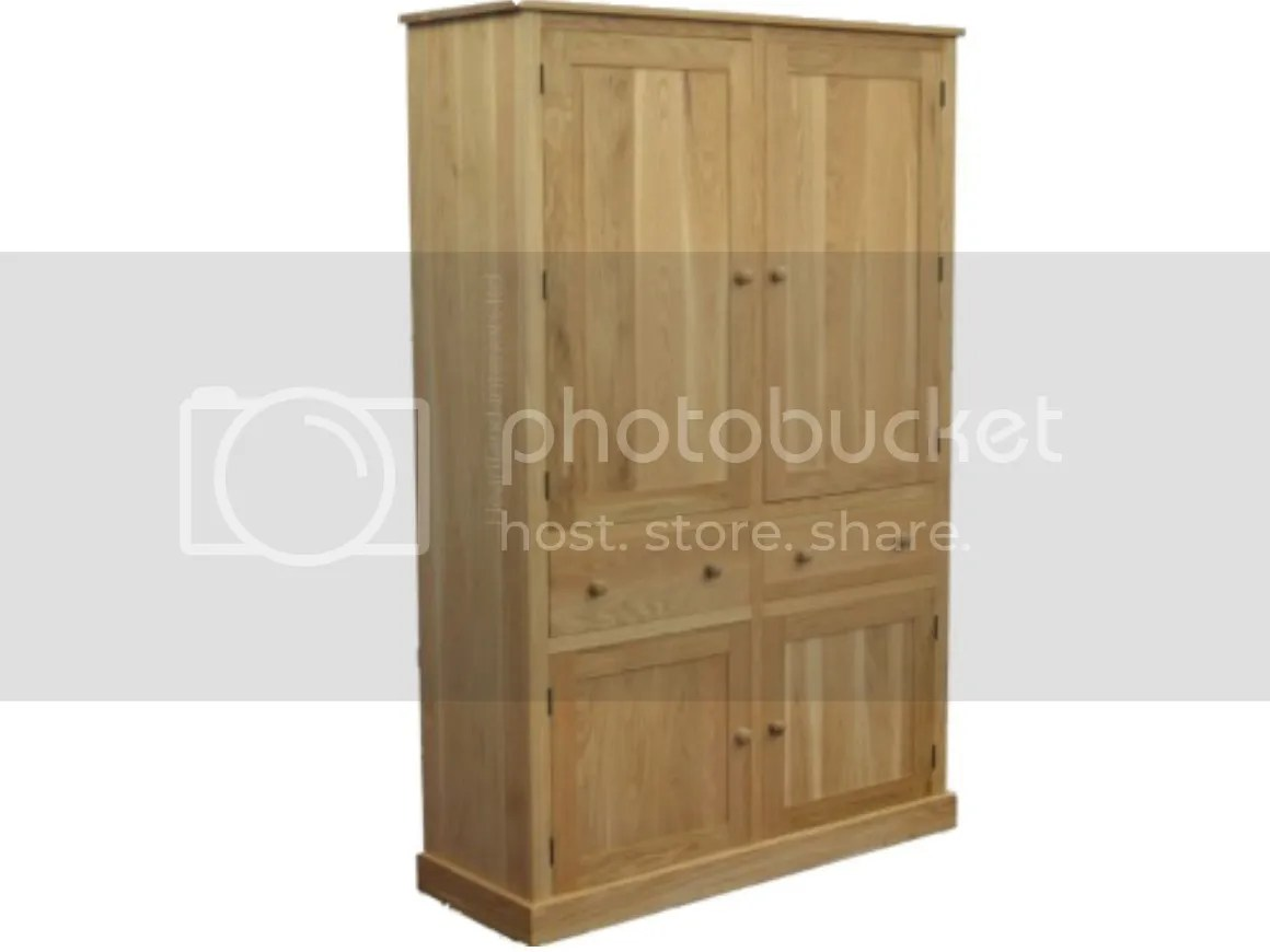 oak kitchen pantry themes for kitchens solid cupboard 2 metre tall linen larder