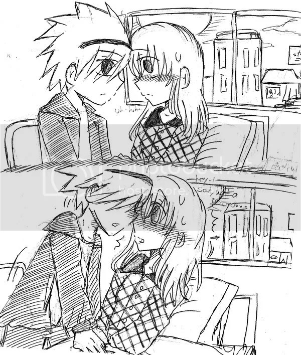 genidu: emo anime love kiss