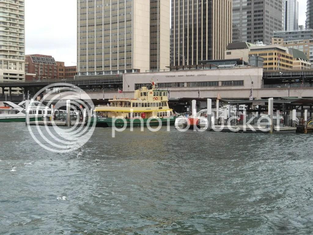 Ferry Terminal At Circular Quai