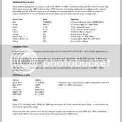 Obd0 To Obd1 Vtec Wiring Diagram Remote Start Installation Diagrams Conversion Harness Manual E Books Onlinecrx Gsr No Help Please Honda Tech