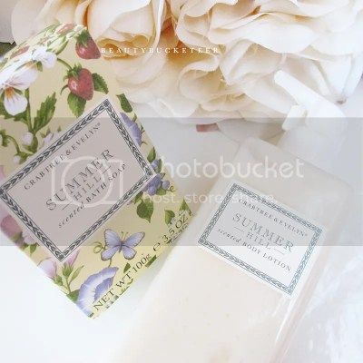 """Crabtree & Evelyn """"Summer Hill"""" Collection"""