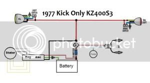 1977 KZ400 Wiring Driagram Approval  KZRider Forum