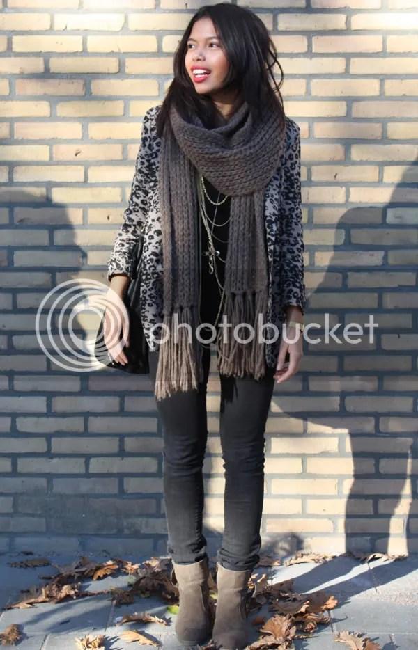 Stacey's lookbook: leopard blazer